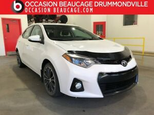 2014 Toyota Corolla S - MANUELLE - TOIT OUVRANT - CUIR !