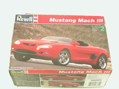 1/25 Revell Monogram Ford Mustang Mach III Concept Plastic Scale Model Kit 7364