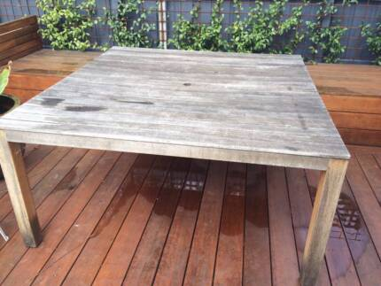 Outdoor Dining Table Ivanhoe Banyule Area Preview