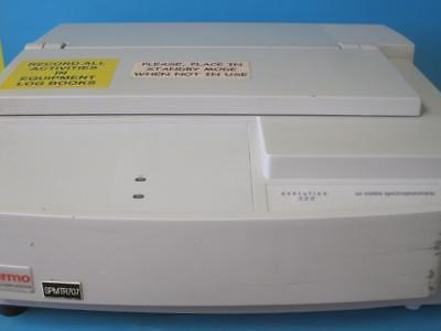 Thermo Electron Corporation Evolution Uv-vis Spectrophotometer Model 500 Bb