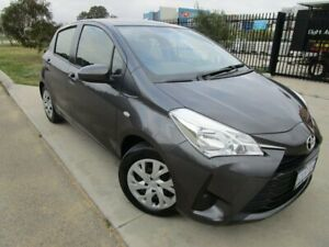 2019 Toyota Yaris NCP130R Ascent Titanium Grey 4 Speed Automatic Hatchback Bassendean Bassendean Area Preview