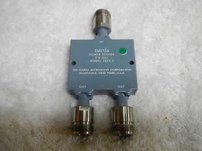 Narda Power Divider Model 3324-2 2 - 8 Ghz