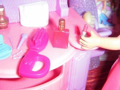 Barbie Pink Liptstick Perfume Brush fits Fisher Price Loving Family Dollhouse