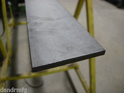 Ms Mild Steel 14 X 4 X 12 Flat Bar Plate Stock Hot Rolled