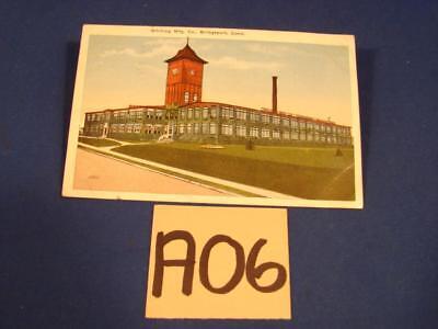 A06 Vintage Postcard Whiting Mfg Co Bridgeport Conn Connecticut