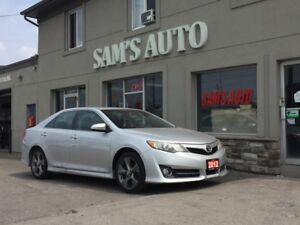 2012 Toyota Camry SE LEATHER SUNROOF NAVI