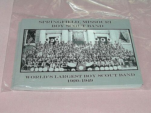 World Largest Boy Scout Band Postcard BSA Missouri Post Card Scouting America