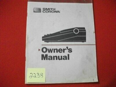 Vintage Smith Corona Typewriter Owners Manual Many Models See Listing