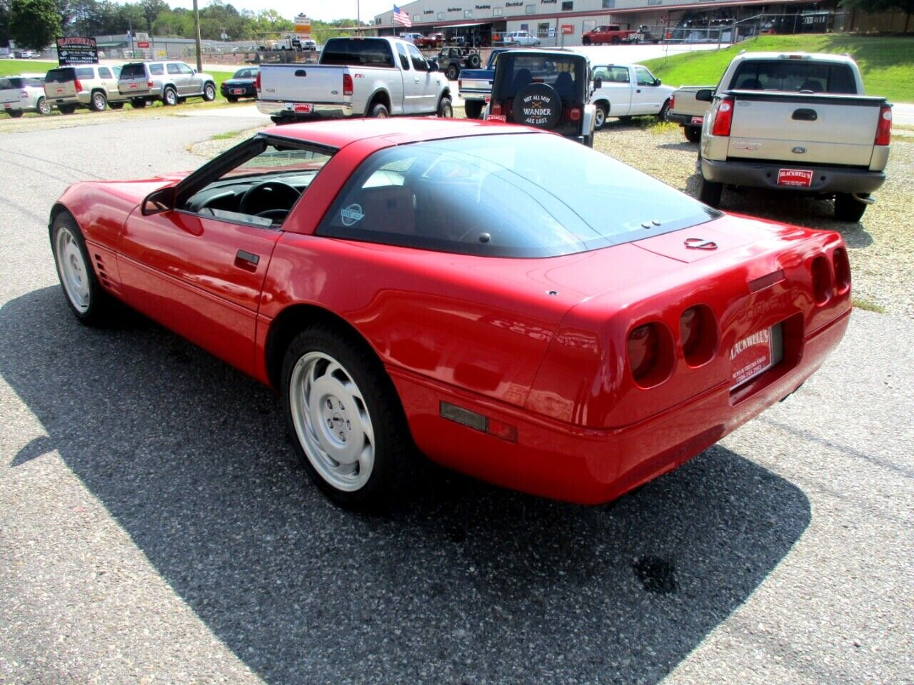 1991 Red Chevrolet Corvette Coupe    C4 Corvette Photo 5