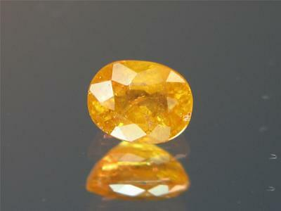 1.55CT UNTREATED INTENSE FANTA ORANGE MOZAMBIQUE SPESSARTITE MANDARIN GARNET Intense Mandarin Orange