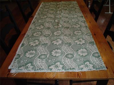 Lovely Laura Ashley Fabric - English Country Print - Green & Cream - 8 Yards