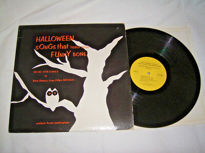 LP - Halloween Songs that tickle your Funny Bone - US 1974 Booklet # cleaned - Funny Bones Halloween Song