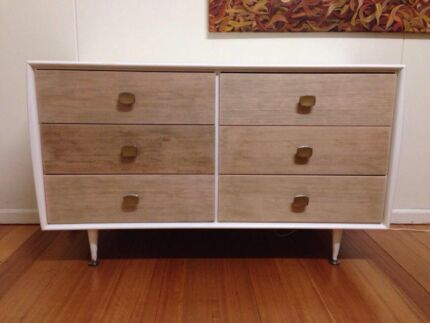 Retro vintage Alrob chest of drawers mid century sideboard low boy