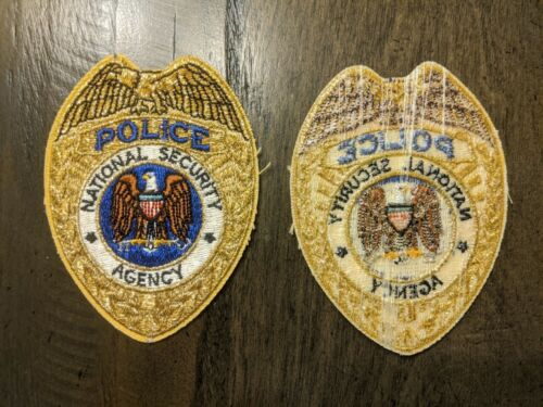 US Dept Of Defense - National Security Agency Police Patch  Federal Police