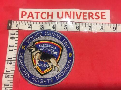 DEARBORN HEIGHTS MICHIGAN  K-9  POLICE  SHOULDER  PATCH  K026