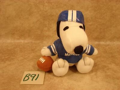 Peanuts Metlife Snoopy Basketball Player Soft Doll RARE!