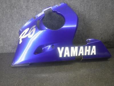 00 Yamaha YZF R6 Left Side Lower Fairing Cowl 627