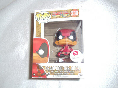 2017 Funko POP Walgreen's Exclusive Marvel Comics Deadpool The Duck #230
