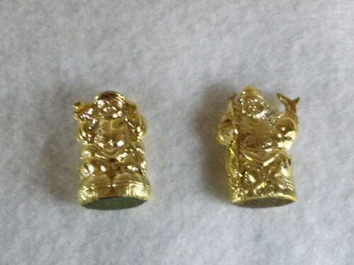 God of Fortune Daikoku & Ebisu Gold amulet