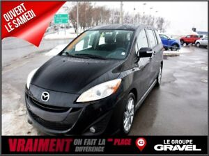 2017 Mazda MAZDA5 GT CUIR TOIT OUVRANT BLUETOOTH 6 PASS