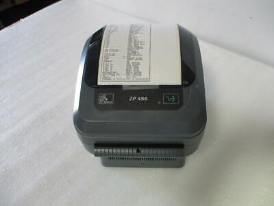 Zebra ZP450 USB Thermal Label Printer Barcode (B522) for sale  Shipping to Nigeria