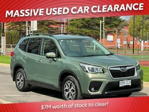 2018 Subaru Forester S5 MY19 2.5i CVT AWD Green 7 Speed Constant Variable Wagon Prospect Prospect Area Preview