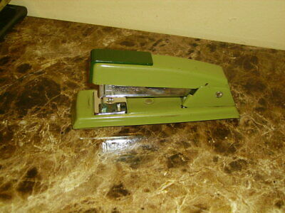 Vintage Green Swingline 711 Stapler Made In Usa Pat Pend