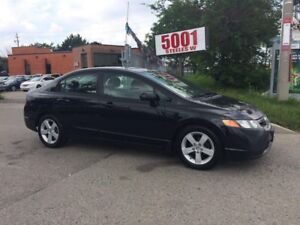 2006 Honda Civic ,GAS SAVER,SAFETY+3YEARS WARRANTY INCLUDED