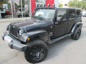 2013 Jeep Wrangler Unlimited SAHARA UNLIMITED 2 TOITS +MICKEY TH
