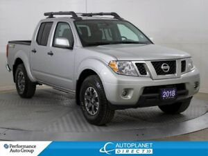 2018 Nissan Frontier PRO-4X 4x4, Navi, Sunroof, Back Up Cam!