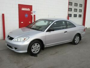 2004 Honda Civic Coupe ~ 5 speed ~ 139,000kms ~ $3999
