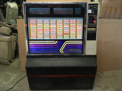 Rock-Ola Rockola 480 Digital Microcomputer Techna Solid State Jukebox Juke Box