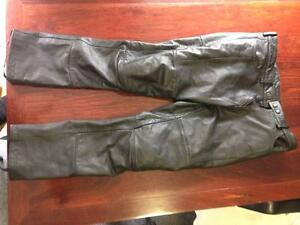Aldi Torque Leather Pants XL Berowra Hornsby Area Preview