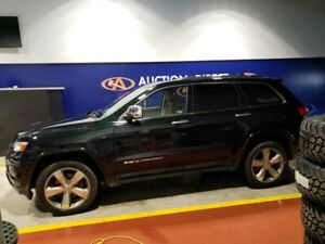 2014 Jeep Grand Cherokee Overland DIESEL, FULLY LOADED, LEATHER