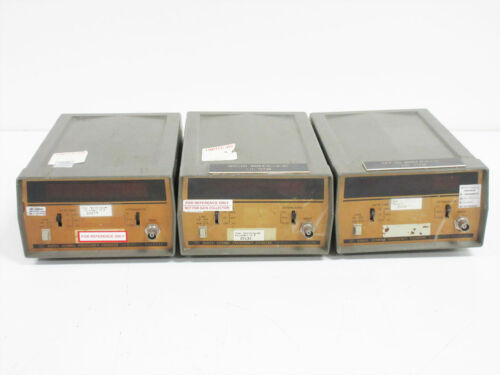 3X HP 5382A 225 MHZ FREQUENCY COUNTER