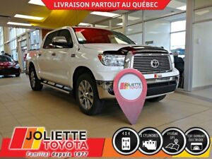 2013 Toyota Tundra Platinum, CREW MAX, CUIR, TOIT OUVRANT,GPS