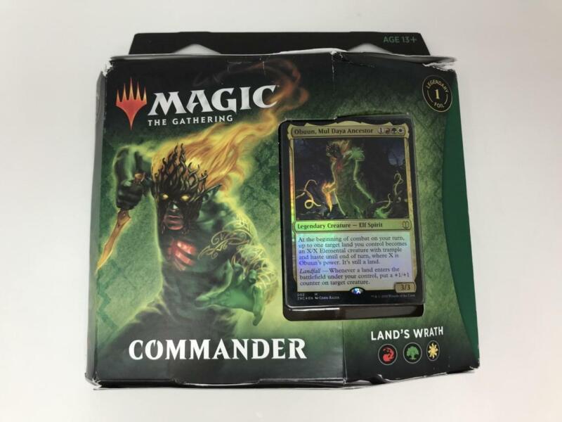 2020 Factory Sealed MTG Magic the Gathering Commander Land