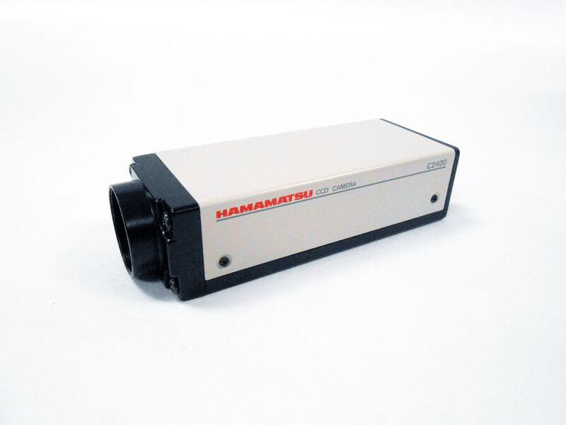 HAMAMATSU C2400 XC-77 CCD VIDEO CAMERA MODULE MICROSCOPE