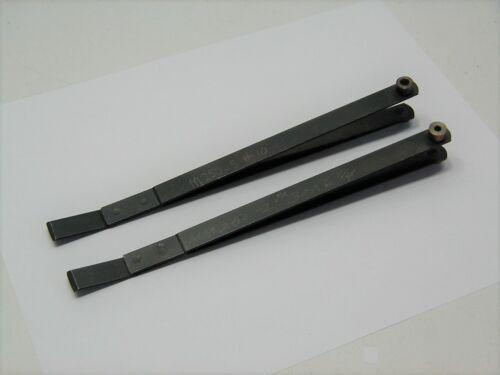 (2) Magnavon Hole Finder Strap Duplicator Aircraft Sheet Metal Tool #10 & #30