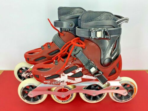 Rollerblade Maxxum 100 Aluminum Inline Skates Mens size 8 / 26.0 100mm Wheels
