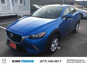 2016 Mazda CX-3 GS** ALL WHEEL DRIVE  AUTO** SUNROOF**HEATED SEA