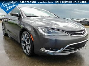 2016 Chrysler 200 C | Leather | Nav | Sunroof | DEMO