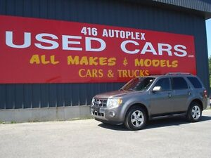 2010 Ford Escape Limited 4X4 Leather Roof