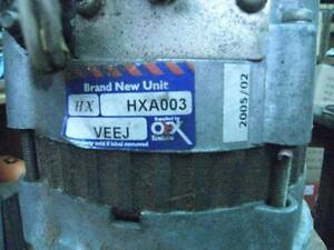 ALTERNATOR - HARDLY USED - MODEL HXA003 VEEJ Kwinana Town Centre Kwinana Area Preview