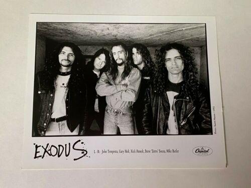 EXODUS 8X10 GLOSSY PUBLICITY PROMO PHOTO ORIGINAL CAPITOL RECORDS HEAVY METAL