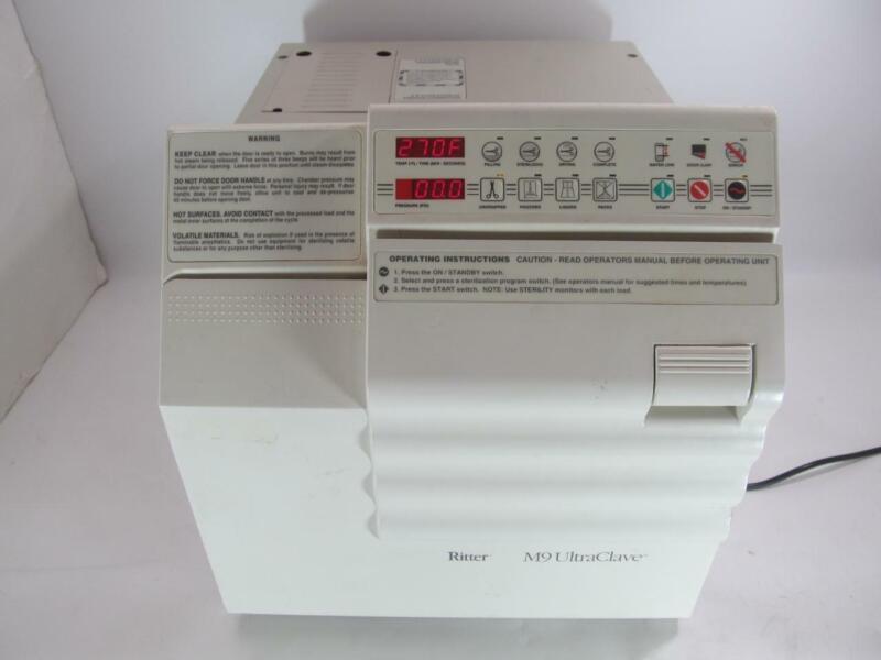 Ritter M9 UltraClave Automatic Sterilizer Autoclave