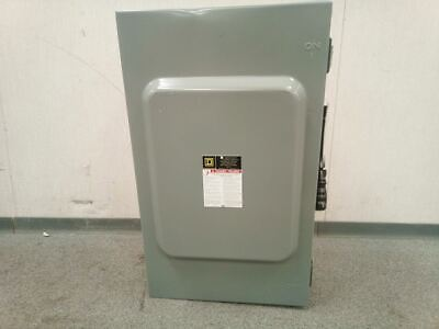 Square D H364awk 600vac 200 Amp Heavy Duty Fusible Safety Switch