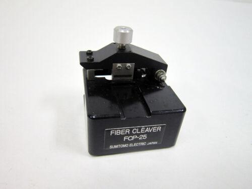 SUMITOMO FCP-25 FIBER CLEAVER