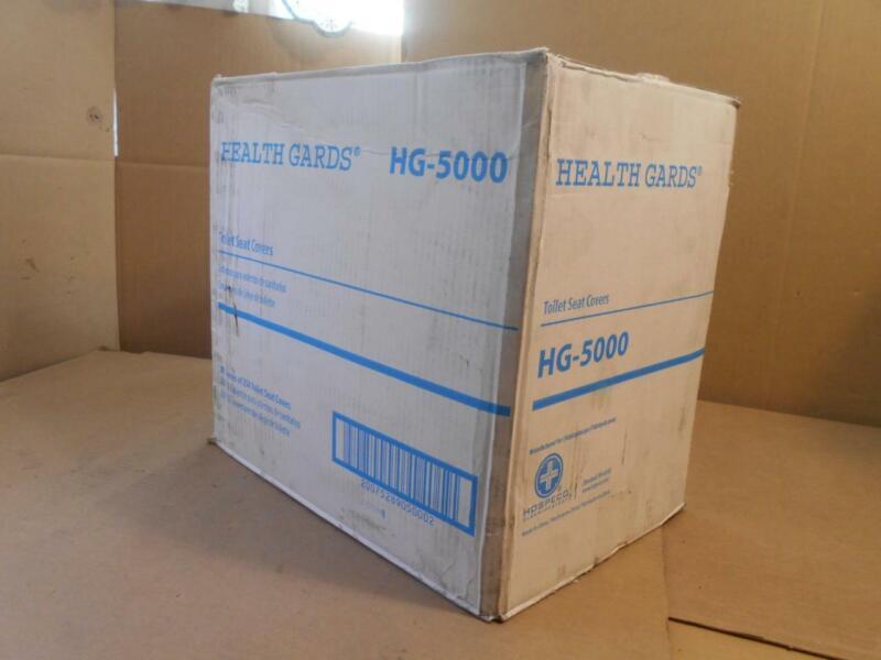 HOSPECO Health Gards Toilet Seat Covers White 250 Covers/pk 20/ctn HG5000CT NE ~
