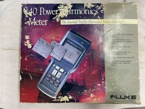 Fluke Model 40 Power Harmonics Meter
